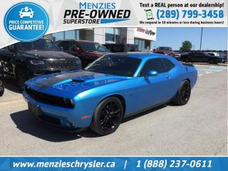 Used 2016 Dodge Challenger RT, Navi, Sunroof, Blacktop Pkg, One Owner for sale in Whitby, ON