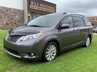 Used 2013 Toyota Sienna XLE.REAR VIEW CAMERA.LEATHER.SUNROOF.BLUETOOTH.ALLOYS. for sale in North York, ON