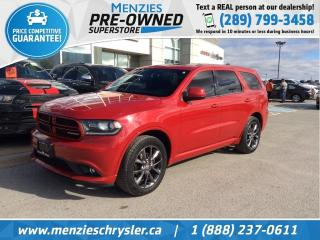 Used 2014 Dodge Durango SXT AWD, Sunroof, Cam, Alloys, Pwr Seat for sale in Whitby, ON