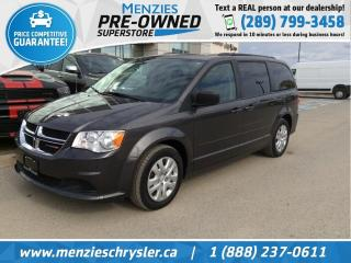 Used 2016 Dodge Grand Caravan SXT, Full STO N Go, Cruise, One Owner for sale in Whitby, ON