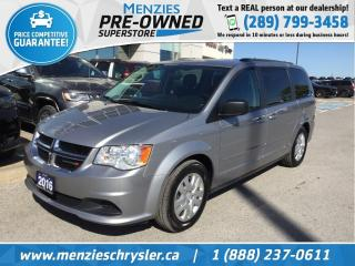 Used 2016 Dodge Grand Caravan SXT, Full STO N Go, ONE Owner, Clean Carfax for sale in Whitby, ON