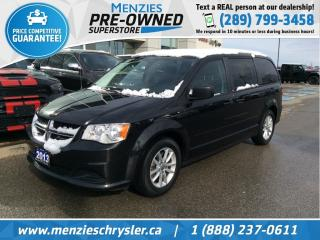 Used 2013 Dodge Grand Caravan SXT Plus, Bluetooth, Cam, One Owner, Clean Carfax for sale in Whitby, ON