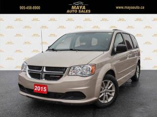Used 2015 Dodge Grand Caravan SXT Navigation, power doors for sale in Brampton, ON