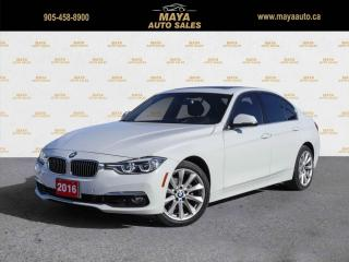 Used 2016 BMW 3 Series 328i xDrive Sedan Local car, low kms, no accidents. for sale in Brampton, ON