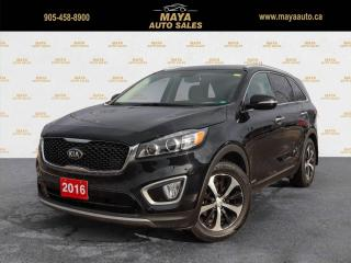 Used 2016 Kia Sorento EX AWD AWD, one owner for sale in Brampton, ON