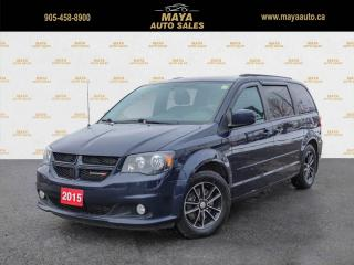 Used 2015 Dodge Grand Caravan R/T Navigation, leather, Blu-Ray for sale in Brampton, ON