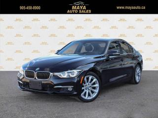 Used 2016 BMW 3 Series 328i xDrive Sedan HUD equipped, no accidents car for sale in Brampton, ON