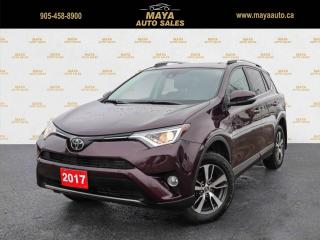 Used 2017 Toyota RAV4 XLE AWD Low kms, sunroof AWD for sale in Brampton, ON