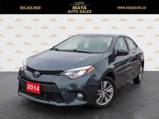 Used 2014 Toyota Corolla ECO LE One owner, sunroof, alloys for sale in Brampton, ON