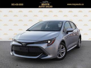 Used 2019 Toyota Corolla SE FWD value priced for sale in Brampton, ON