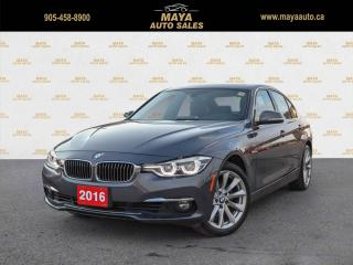 Used 2016 BMW 3 Series 328i xDrive Sedan Low kms, accidents free car for sale in Brampton, ON