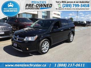 Used 2018 Dodge Journey GT AWD, Sunroof, Navi, DVD, Cam for sale in Whitby, ON