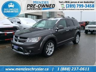 Used 2017 Dodge Journey GT AWD, Leather, 7 Passenger, Bluetooth for sale in Whitby, ON