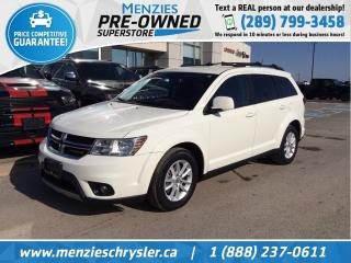 Used 2014 Dodge Journey SXT, Bluetooth, Heated Frt Seats, Clean Carfax for sale in Whitby, ON