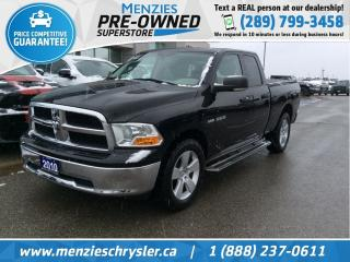 Used 2010 Dodge Ram 1500 SLT Hemi 4x4, Bluetooth, Hitch, Clean Carfax for sale in Whitby, ON