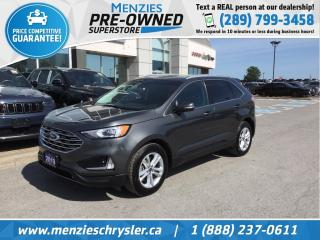 Used 2019 Ford Edge SEL AWD, Bluetooth, Cam, Clean Carfax for sale in Whitby, ON