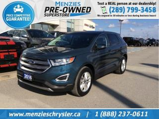 Used 2016 Ford Edge SEL AWD, Navi, Bluetooth, Cam, One Owner for sale in Whitby, ON