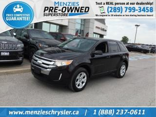 Used 2013 Ford Edge SEL, Pano Sunroof, Bluetooth, Big Screen for sale in Whitby, ON