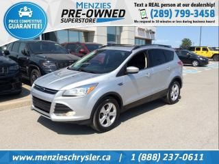 Used 2016 Ford Escape SE, Pano Roof, Leather, Navi, Clean Carfax for sale in Whitby, ON