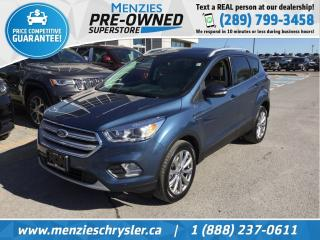 Used 2018 Ford Escape Titanium 4x4, Navi, Pano Roof, Clean Carfax for sale in Whitby, ON