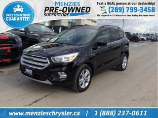 Used 2018 Ford Escape SE, Bluetooth, Cam, One Owner, Clean Carfax for sale in Whitby, ON