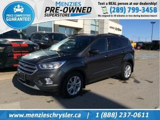 Used 2017 Ford Escape SE 4x4, Navi, One Owner, Clean Clean Carfax for sale in Whitby, ON