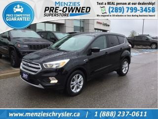 Used 2017 Ford Escape SE 4x4, Bluetooth, Cam, One Owner, Clean Carfax for sale in Whitby, ON