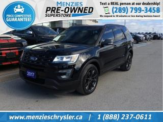 Used 2017 Ford Explorer XLT 4x4, Navi, Pano, One Owner, Clean Carfax for sale in Whitby, ON