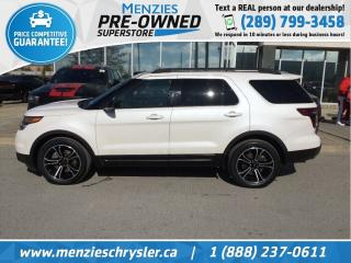 Used 2015 Ford Explorer Sport 4x4, Pano Roof, Navi, Clean Carfax for sale in Whitby, ON