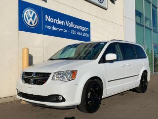 Used 2017 Dodge Grand Caravan CREW V6 - LOW KMS + PWR PKG for sale in Edmonton, AB