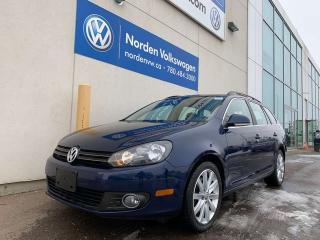 Used 2013 Volkswagen Golf Wagon 2.0L TDI HIGHLINE - LEATHER / SUNROOF for sale in Edmonton, AB