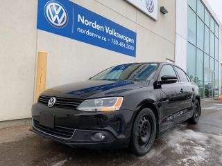 Used 2014 Volkswagen Jetta Sedan 2.0L TDI COMFORTLINE - HEATED SEATS / LOW KMS for sale in Edmonton, AB