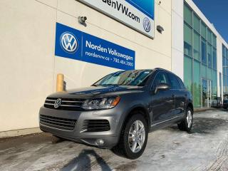 Used 2014 Volkswagen Touareg 3.0L TDI HIGHLINE 4MOTION AWD - LOADED / 1 OWNER for sale in Edmonton, AB