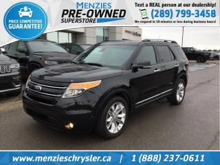 Used 2015 Ford Explorer Limited 4X4, Sunroof, Navi, Clean Carfax for sale in Whitby, ON