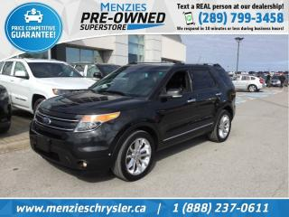 Used 2015 Ford Explorer Limited 4x4, Dual-Pane Sunroof, Navi, Clean Carfax for sale in Whitby, ON