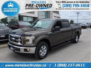 Used 2016 Ford F-150 FX4, 4x4, Bluetooth, Cam, Hitch, Clean Carfax for sale in Whitby, ON