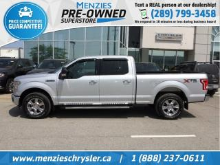 Used 2017 Ford F-150 XTR 5.0L, Bluetooth, Cam, Clean Carfax for sale in Whitby, ON