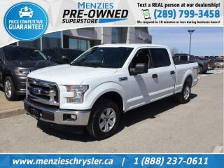 Used 2017 Ford F-150 XLT, 4x4, CAM, Longbox, Clean Carfax for sale in Whitby, ON