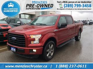 Used 2016 Ford F-150 XLT Sport 4x4, Navi, One Owner, Clean Carfax for sale in Whitby, ON