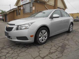 Used 2014 Chevrolet Cruze 1LT 1.4L Turbo Automatic Blue Tooth Certified 135K for sale in Rexdale, ON