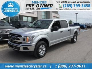 Used 2018 Ford F-150 XLT 4x4, Bluetooth, Cam, 5.0 L, Clean Carfax for sale in Whitby, ON