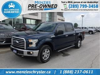 Used 2016 Ford F-150 XTR 4x4, Bluetooth, Cam, Hitch, Alloys for sale in Whitby, ON