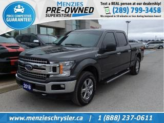 Used 2018 Ford F-150 XTR 4x4, Bluetooth, One Owner, Clean Carfax for sale in Whitby, ON