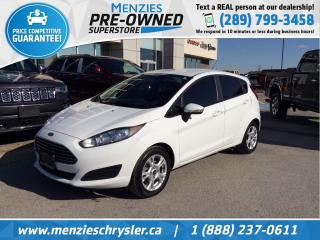 Used 2015 Ford Fiesta SE, Auto, Bluetooth, One Owner, Clean Carfax for sale in Whitby, ON