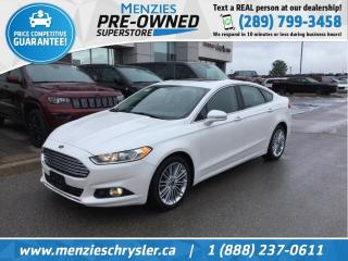 Used 2014 Ford Fusion SE AWD, Sunroof, Navi, Leather, Bluetooth for sale in Whitby, ON