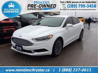 Used 2018 Ford Fusion SE, Bluetooth, Navi, One Owner, Clean Carfax for sale in Whitby, ON