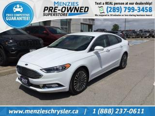 Used 2017 Ford Fusion SE, Bluetooth, Navi, Cam, Clean Carfax for sale in Whitby, ON