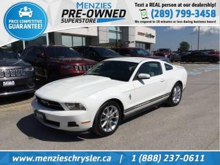 Used 2011 Ford Mustang Bluetooth, Heated Front Seats, Clean Carfax for sale in Whitby, ON