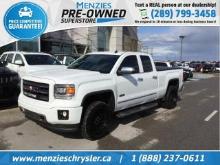 Used 2014 GMC Sierra 1500 SLT, 4x4, Bluetooth, Navi, Cam, Clean Carfax for sale in Whitby, ON