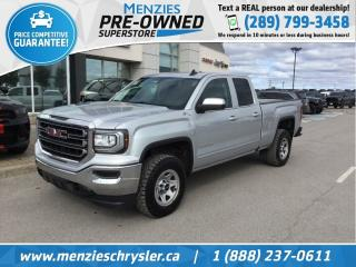 Used 2017 GMC Sierra 1500 SLE 4x4, Bluetooth, Cam, Hitch, Clean Carfax for sale in Whitby, ON